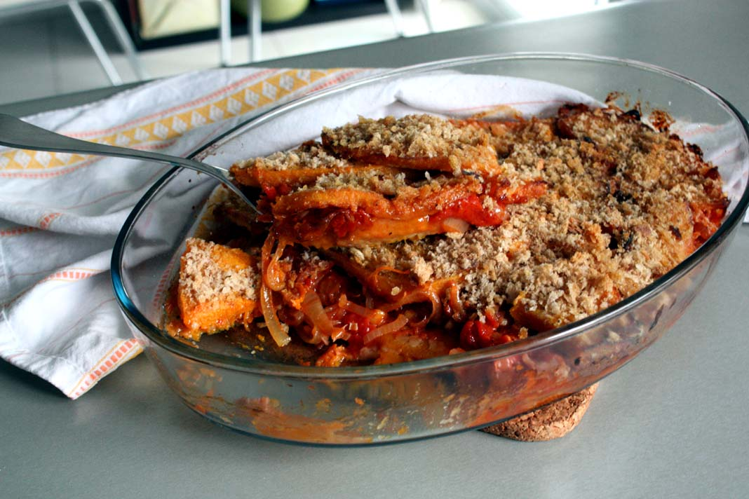 Toulouse lautrec s gratin of pumpkin sharing the food we for Toulouse cuisine